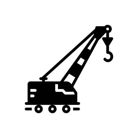 Icon for lifting,crane