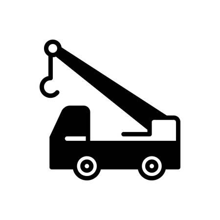 Icon for crane,truck