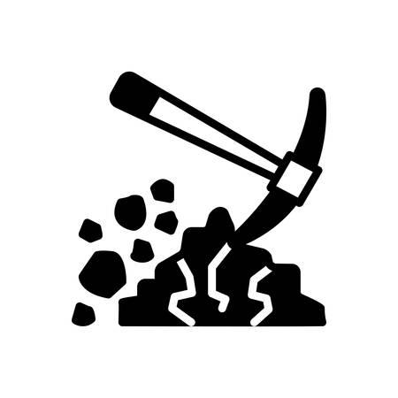 Icon for digging ,shovel 일러스트