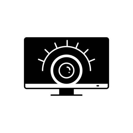 Surveillance services icon Stock Illustratie