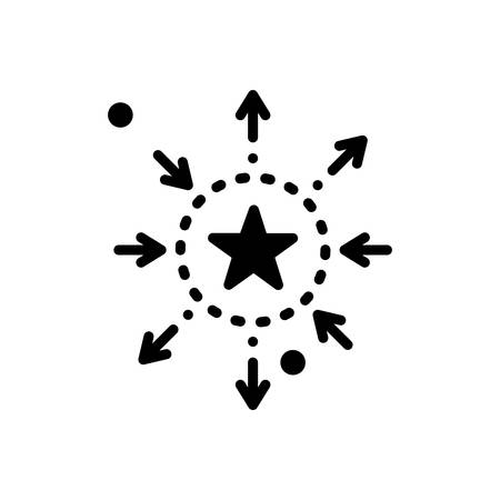 Icon for differentiation,discrimination