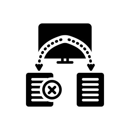 Icon for reassign, transition