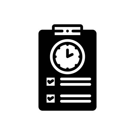 Icon for timesheet,countdown