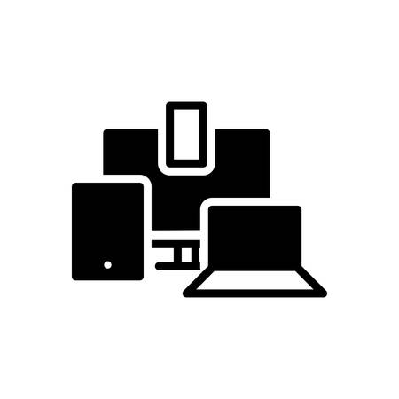 Icon for responsive,design Illustration