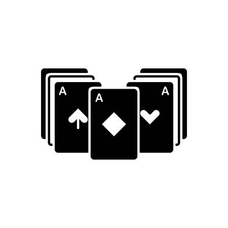 Icon for blackjack ,playing cards