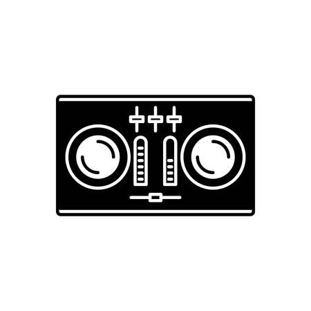 Icon for dj,remote Ilustrace