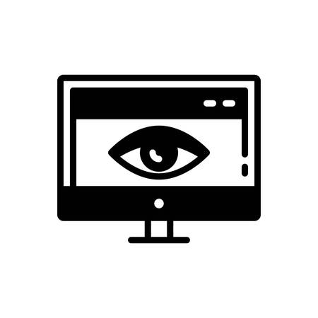 Icon for web,visibility