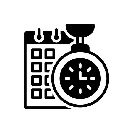 Icon for time,planning