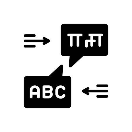 Icon for bilingual,language