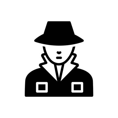 Icon for Agent,scout Illustration