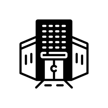 Icon for Enterprise,company 일러스트