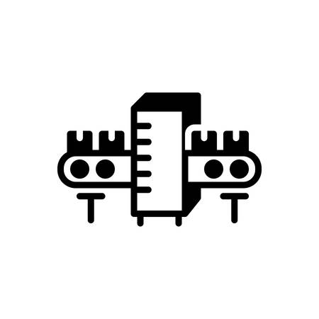Icon for Manufacturing,factory Banque d'images - 136627367