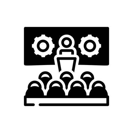 Icon for Workshop,seminar 向量圖像
