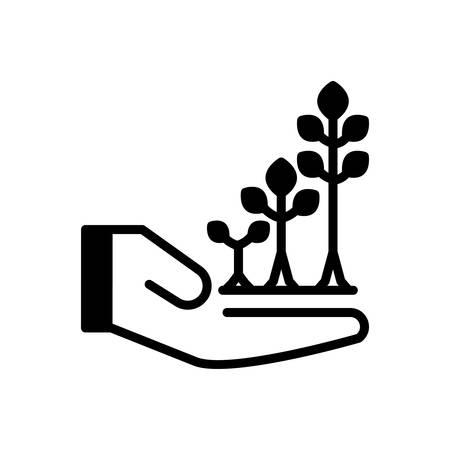 Symbol für Wachsen, explodieren