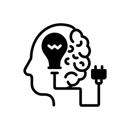 Icon for Creative,brainstorming 일러스트