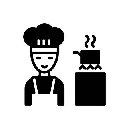 Icon for Cooking,apron 向量圖像