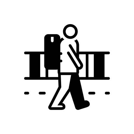 Icon for Vagrant,strolling