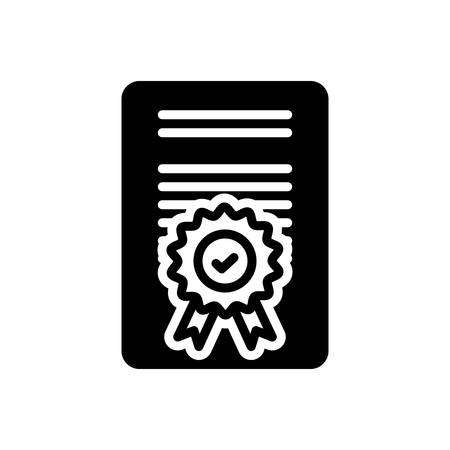 Icon for Accreditation,certificate Çizim