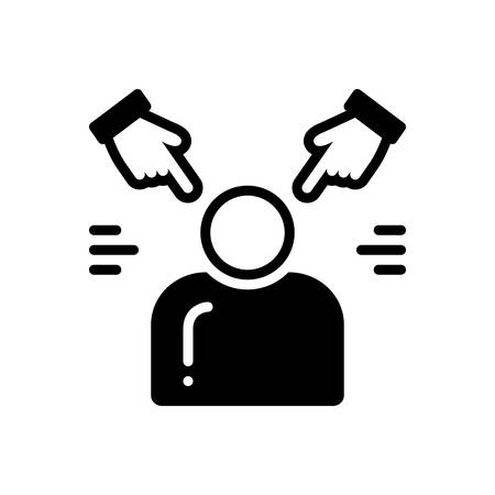 Icon for Accusation,allegation Vector Illustration