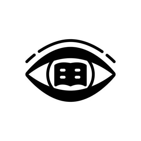Icon for Reading,study Ilustração