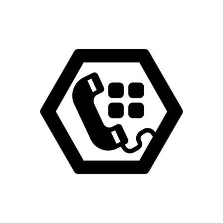 Icon for Tel ,call Vektoros illusztráció