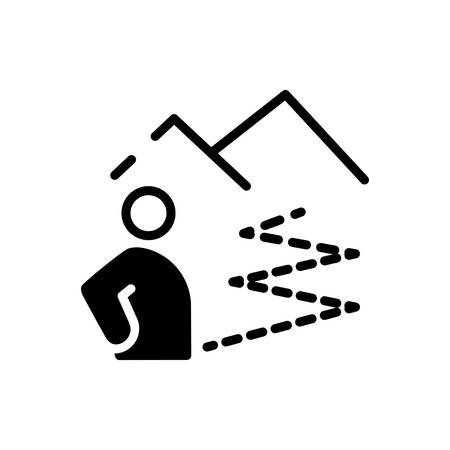 Icon for Distance,location Standard-Bild - 137080321