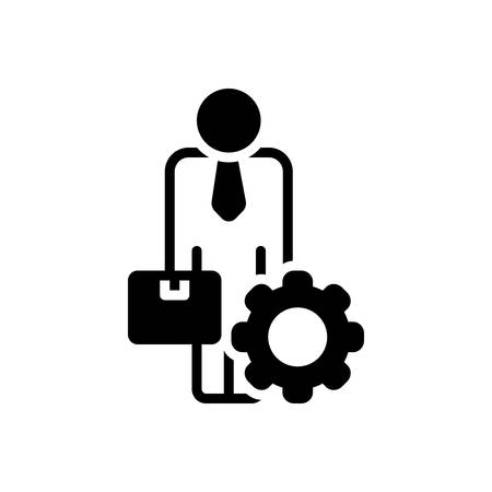 Icon for ancillary,helper 向量圖像