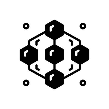Icon for adjacent,abstract