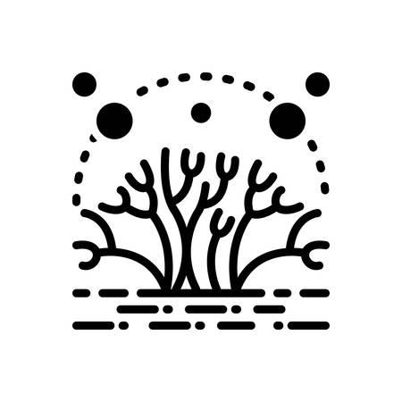 Symbol für Algen, Moos