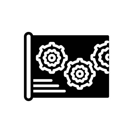 Icon for Projects,plan Banco de Imagens - 137265883