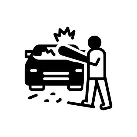 Icon for auto,destruction