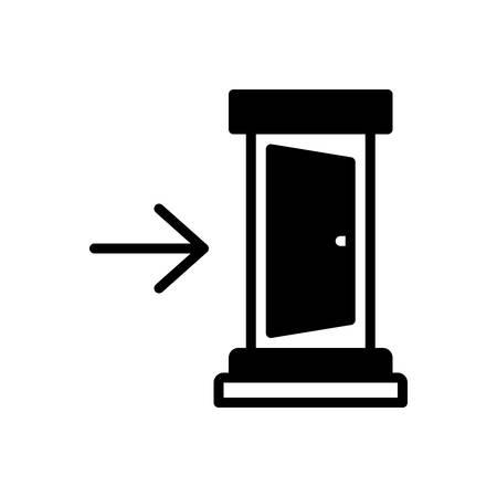 Symbol für in,Innerhalb Vektorgrafik