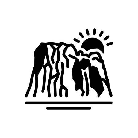 Icon for bedrock,basis Illustration