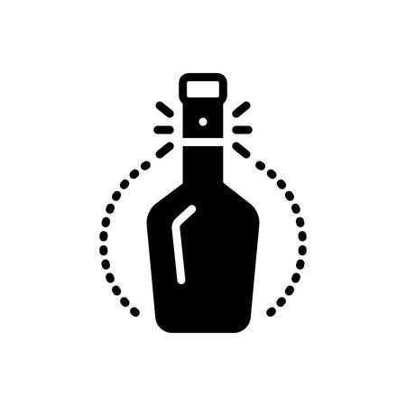 Symbol für Engpass, Ausguss Vektorgrafik