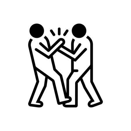 Icon for bullying,abuse Ilustrace