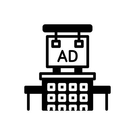 Icon for advertising,advertisement