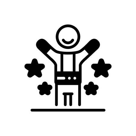 Icon for happy,fain