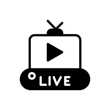 Icon for live,video
