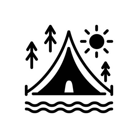 Icon for camps,tent