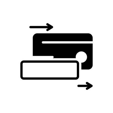 Icon for cardswiping,cardswipe