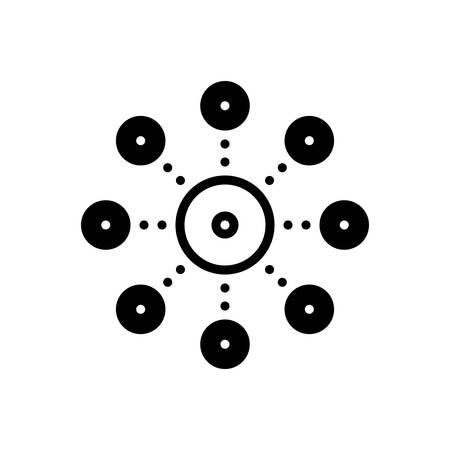 Icon for decentralization,server