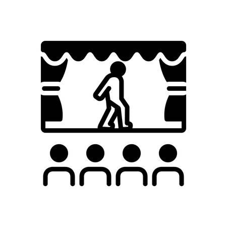 Icon for enact,perform 版權商用圖片 - 138040682