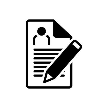Icon for enrollment,nomination Illustration