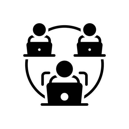 Icon for facilitate,make easy
