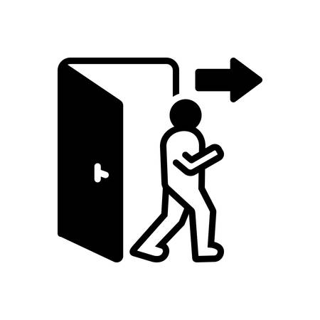 Icon for exit,egress
