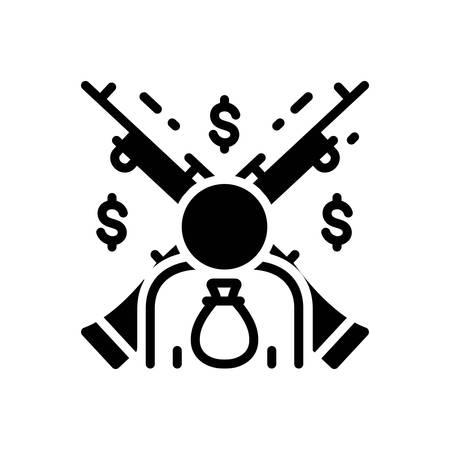 Icon for feudalism,feudality Stock Illustratie