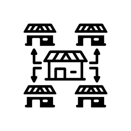 Icon for franchising,opportunity  イラスト・ベクター素材