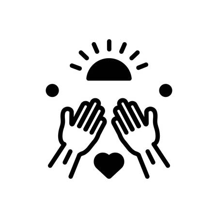 Icon for goodness,well being