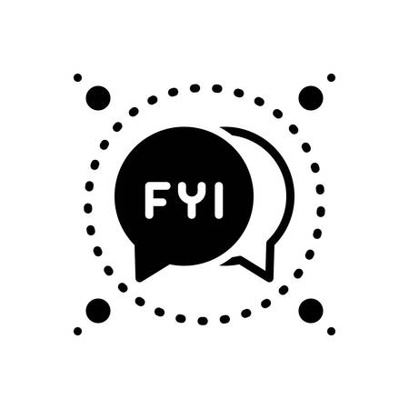 Icon for fyi,bubble
