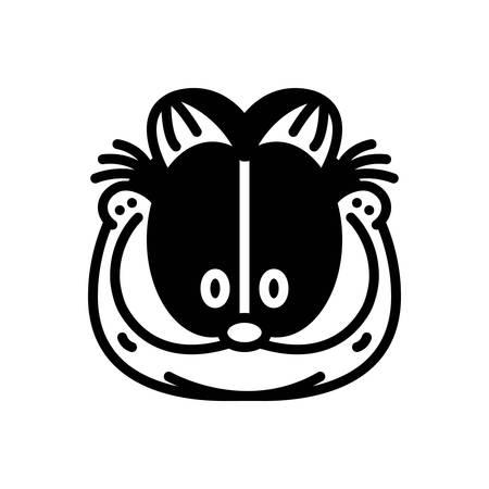 Icon for garfield,cartoon